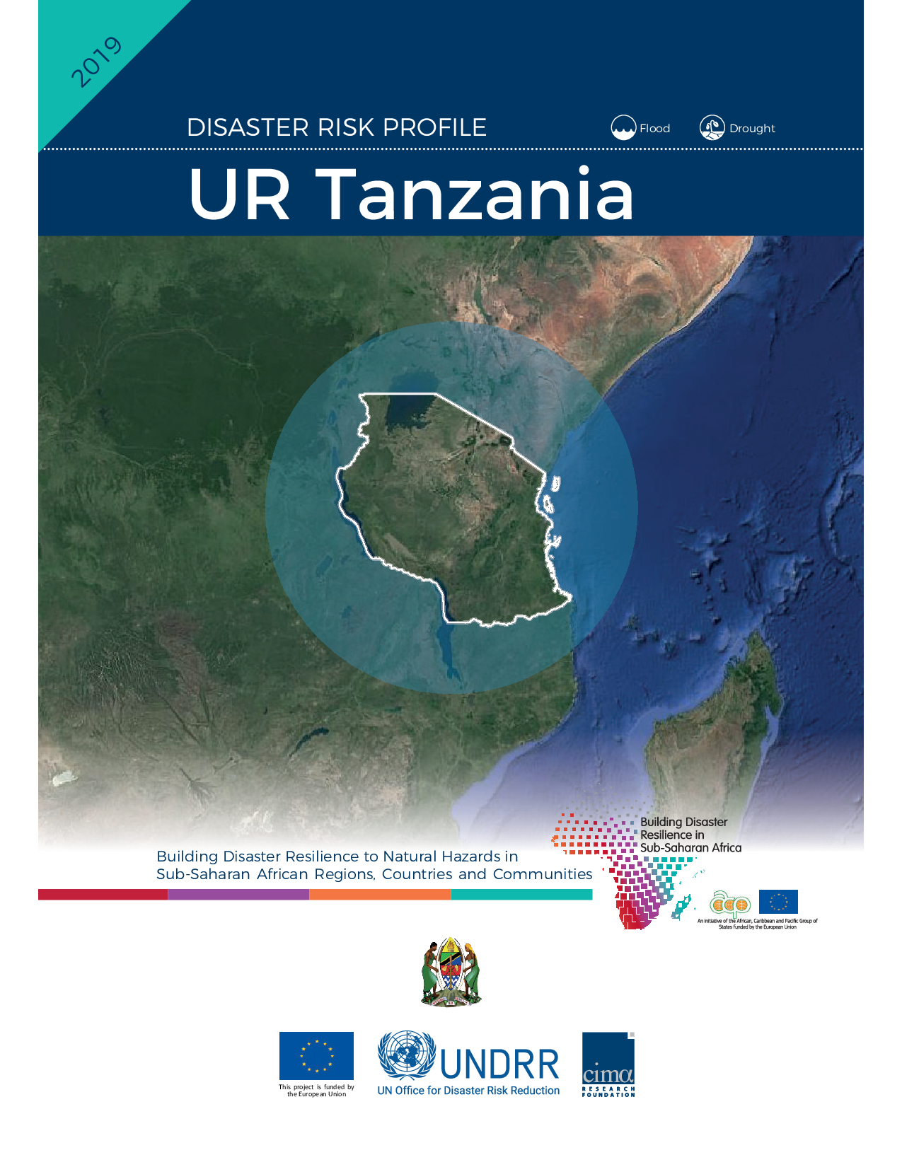 TZA: Tanzania Risk Profile - Floods & Droughts (2019)