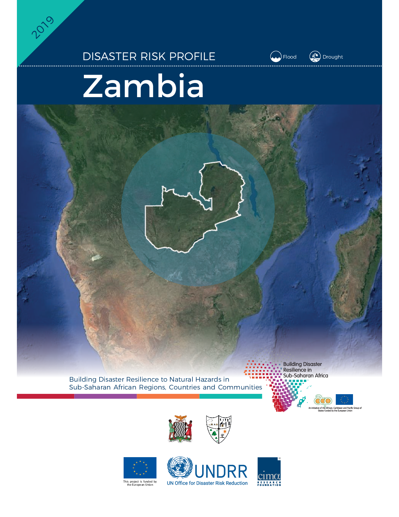 ZMB: Zambia Risk Profile - Floods & Droughts (2019)